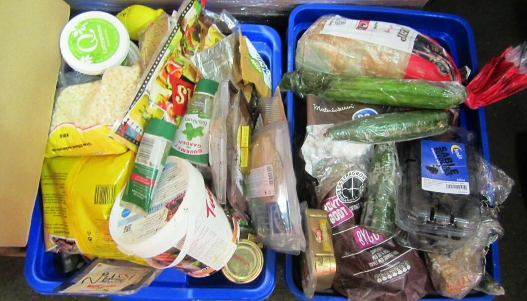 Meieriprodukter kastes ofte fordi de går ut på dato. Brød kastes fordi det blir tørt, og frukt og grønt fordi de oppbevares feil og blir ødelagt.  (Foto: Mepex)
