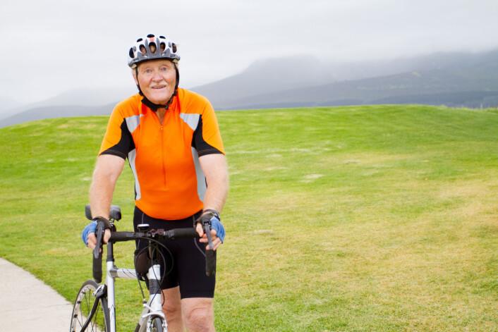 Når du sykler, forlenger du livet. Så får du tid til å sykle enda mer. (Illustrasjonsfoto: Microstock)