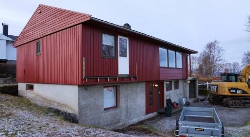 Slik blir huset moderne og miljøvennlig