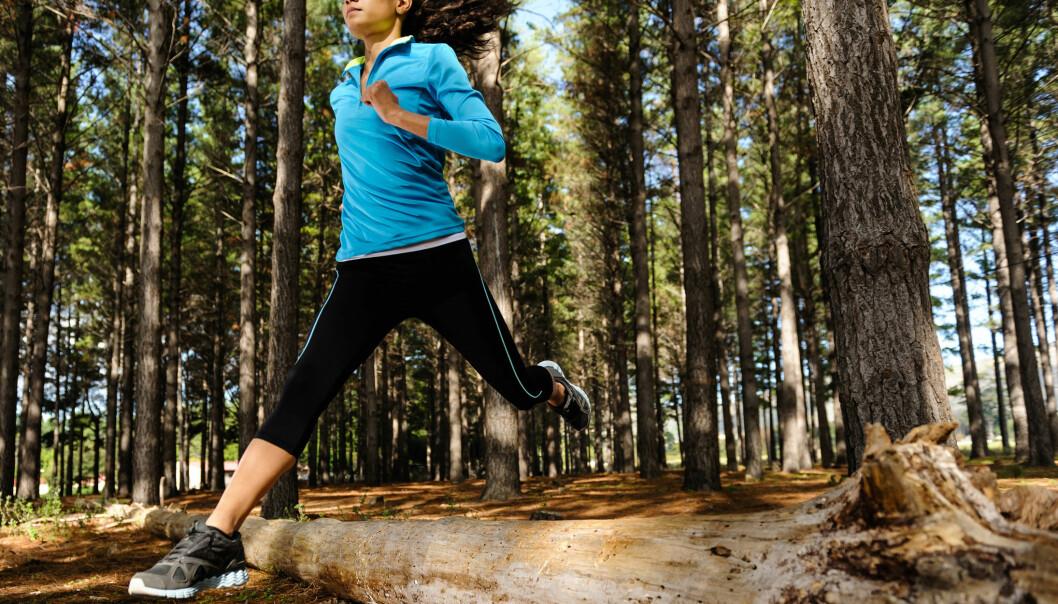 Frister det? Hvis du sitter mest rolig, så er det sannsynligvis her du kan la deg påvirke til å trene, og ikke på et treningsstudio. (Foto: Microstock)