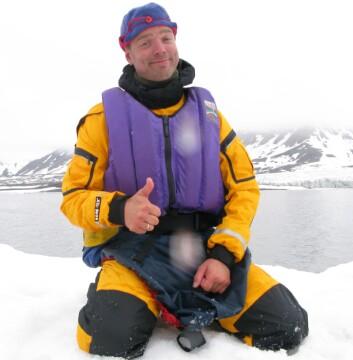 Friluftslivsforskar Thomas Vold. (Foto: Privat)