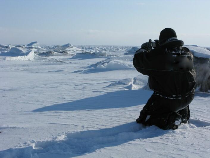 Naturen på Svalbard inspirerer. (Foto: Thomas Vold)