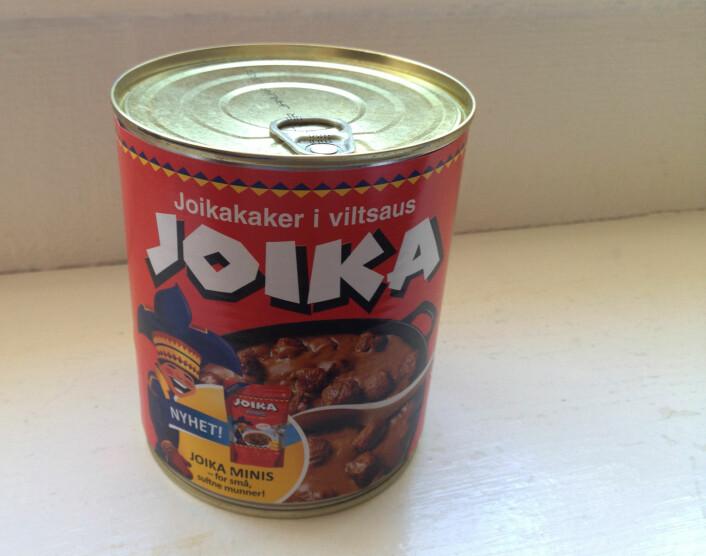 Joikakaker - en suksessfull blanding av kjøtt og innmat.  (Foto: Anette Tjomsland)