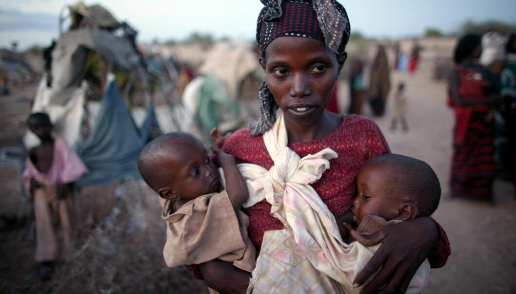 Etter ekstrem tørke dør det langt flere jentebabyer enn gutter i det sørlige Afrika. Særlig utsatt er nyfødte jenter med mødre som ikke er i jobb og som ønsker seg få barn. (Foto: Michael Kamber, NTB scanpix)