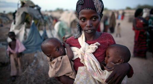 Tørke truer afrikanske jentebabyer
