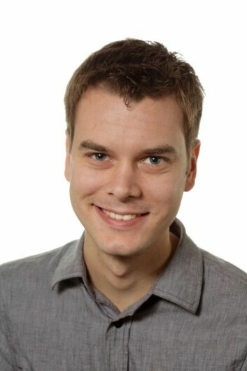 Martin Flatø, stipendiat ved ESOP. (Foto: UiO)