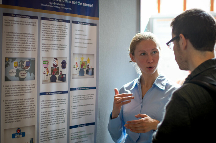 Poster session. Foto: Fredrik H. Juell