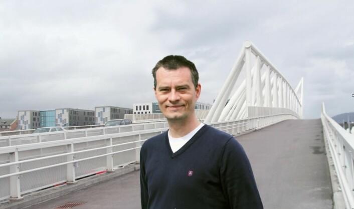 – Legemiddelstudier i de nordiske landene er under styrt avvikling i dag, mener Jacob Hølen.  (Foto: Elin Fugelsnes)