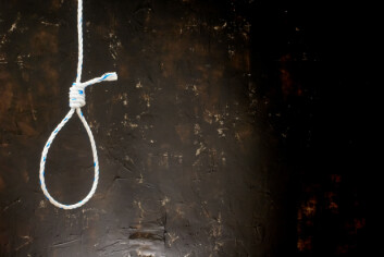 Hos TDC Telco fikk selgere som ikke klarte seg godt en dag, blant annet tilsendt et bilde av en galge.  (Foto: Colourbox)