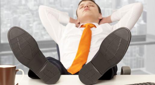 - Voksne må være rollemodeller for de unge på jobben