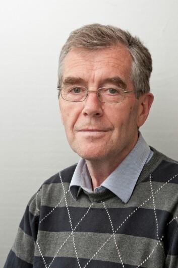 Arne Grønlund har vurdert noen av de viktigste klimatiltakene i matproduksjonen i Norge. (Foto: Erling Fløistad, Bioforsk)