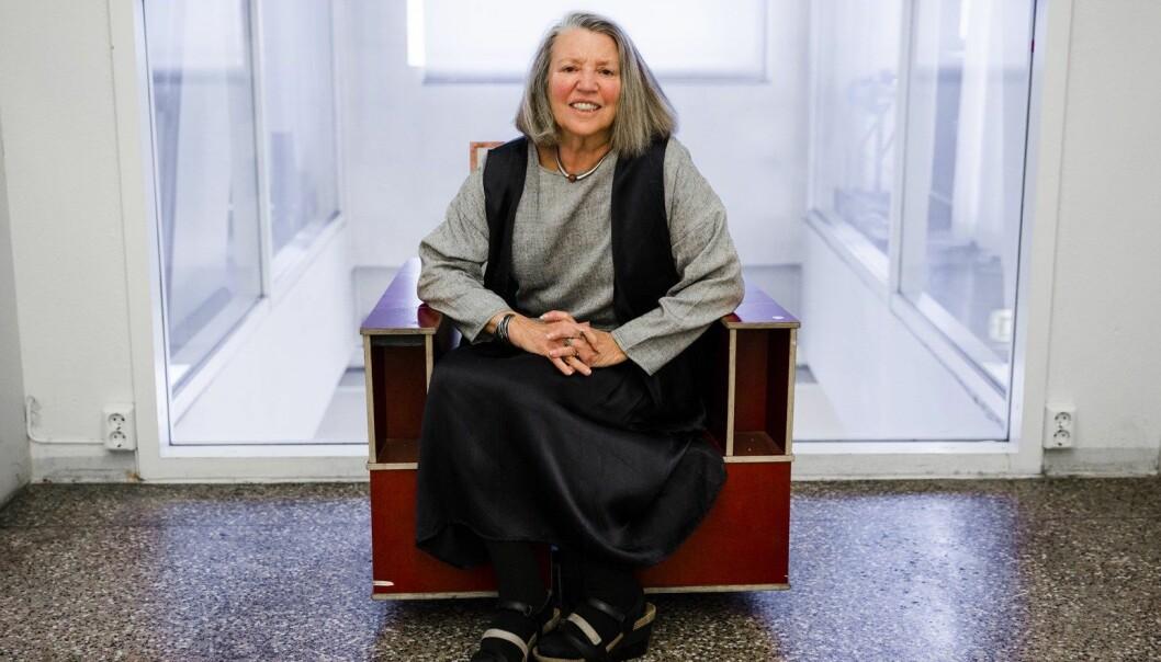 I stedet for å synliggjøre sammenhengen mellom økonomi og kultur, har feminismen akseptert det liberale premisset som skiller dem fra hverandre, hevder Nancy Fraser.  (Foto: Tom Henning Bratli, Klassekampen)