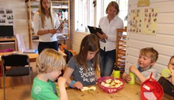 Skal få barn til å spise mer grønt