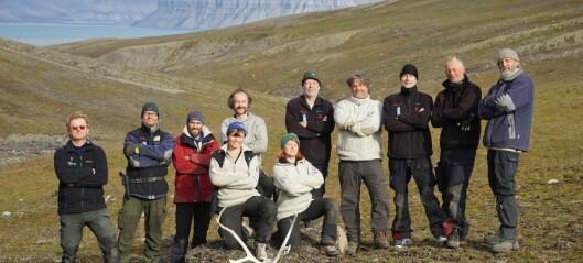 Tilbake til Svalbard, tilbake i tid