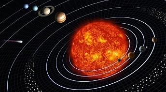 Små planeter har sirkelrunde baner