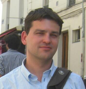Solforsker Sven Wedemeyer. (Foto: UiO)