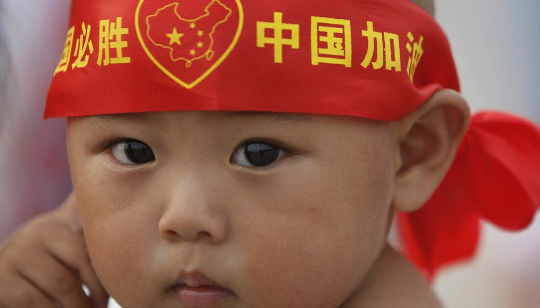 Kinesiske babyer ble større etter Beijing-OL