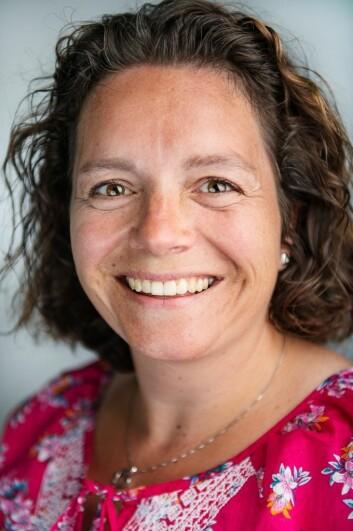 Elisabeth Wiken Telenius er selv fysioterapeut.  (Foto: Benjamin A. Ward / HiOA)