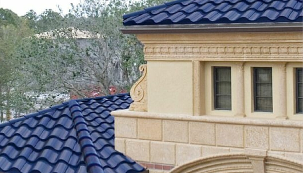 Solcellene som er bygd inn i taket, vises knapt. (Foto: Solar Thermal Magazine)