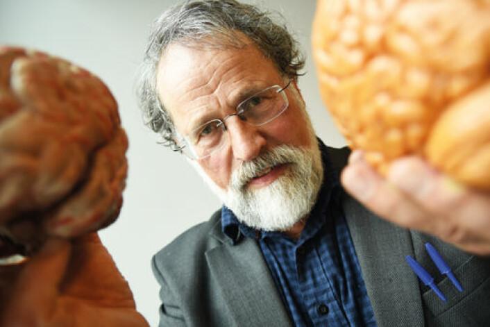 Johan Storm starter i sommer de første eksperimentene på epilepsipasienter for å kunne teste ut om den nye teorien om bevissthet stemmer. (Foto: Ola Sæther)