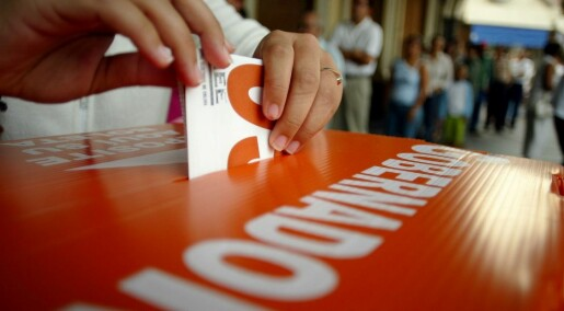 Bytter bort stemmer for statlige goder