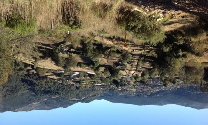 Landsbyen Acopilco har ligget på samme sted siden spanjolenes okkupasjon. Den gang og nå skjer mange ting i nettverk mellom folk.  (Foto: Turid Hagene)