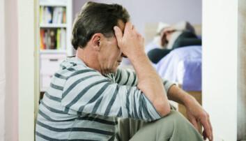 Nesten hver fjerde mann som oppsøker hjelp fordi de er voldelige mot partneren sin avbryter behandlingen underveis, allerede før fjerde samtalemøte, ifølge ny studie. (Foto: Microstock)