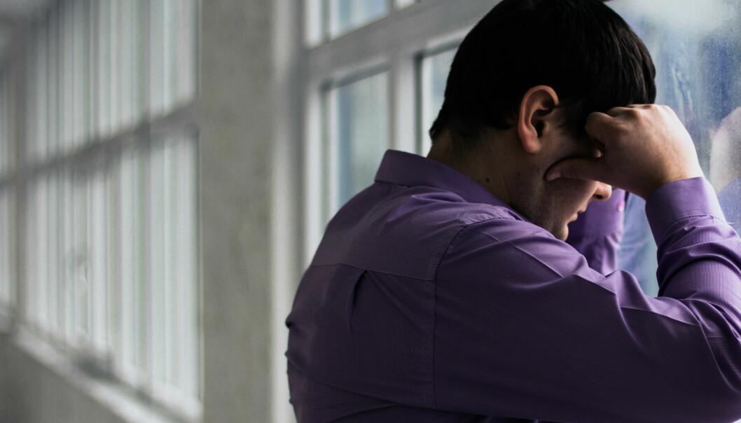 – Enten kan en depresjon være et veldig tidlig tegn på Parkinsons sykdom eller være en risikofaktor for sykdommen, sier hovedforfatteren av den nye studien. (Foto: Colourbox)