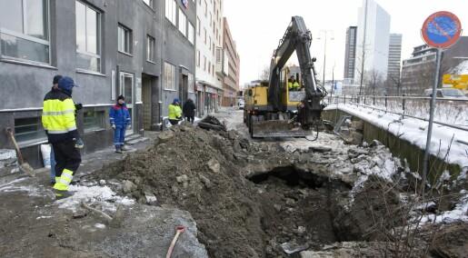 Mener Oslo bør fikse avløpsrørene oftere