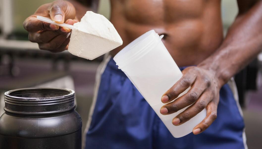 Den nye studien viser at sjansen for å få testikkelkreft øker om man har begynner å bruke kosttilskudd i ung alder, og om man bruker dem over flere år. (Foto: Microstock)