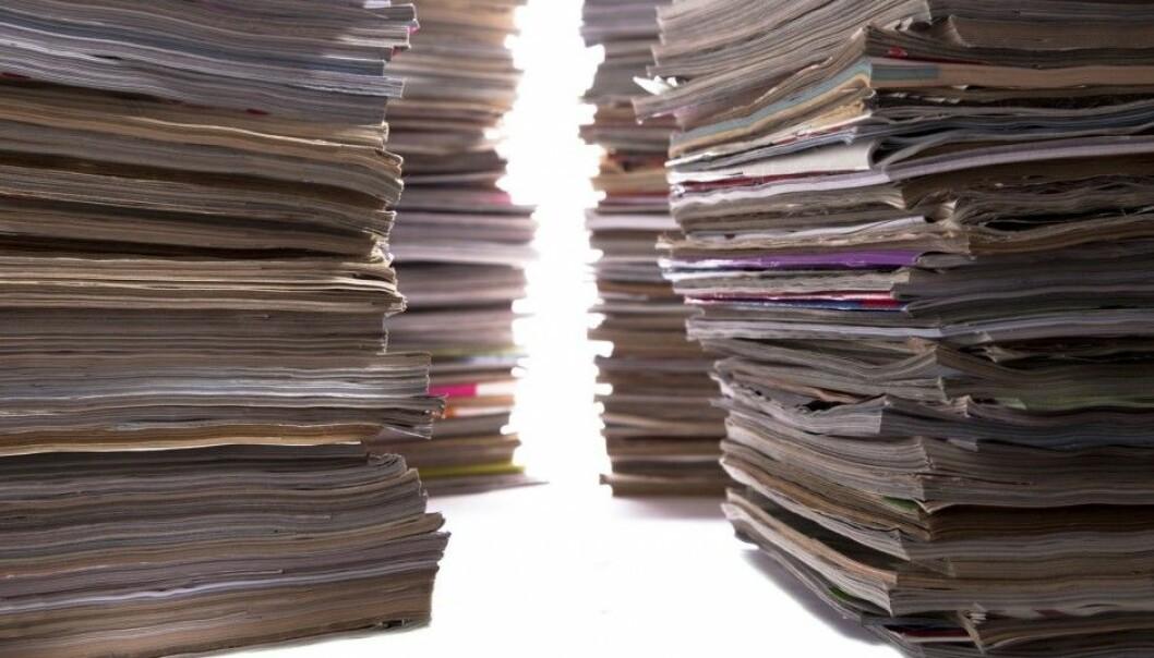 Når vi bare teller publiseringer i vitenskapelige tidsskrifter, overser vi betydningen forskningsresultatene har for andre forskere og interessenter, mener professor Frank Huisman. (Illustrasjonsfoto: Microstock)