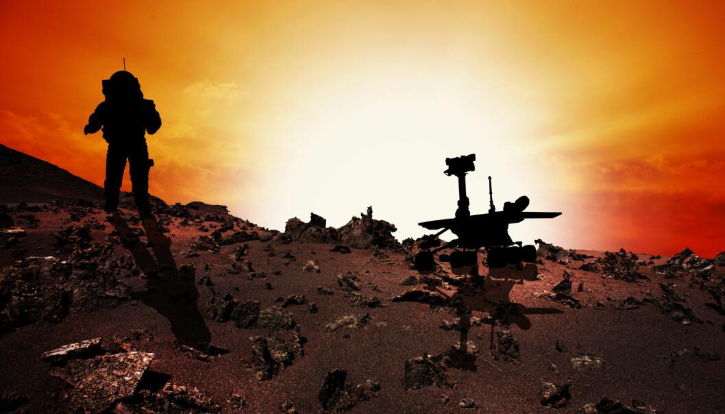 En tur til Mars kan skade hjernen. Den kosmiske strålingen er så kraftig at den ødelegger hjernecellenes evne til å kommunisere, viser ny forskning.   (Foto: Microstock)
