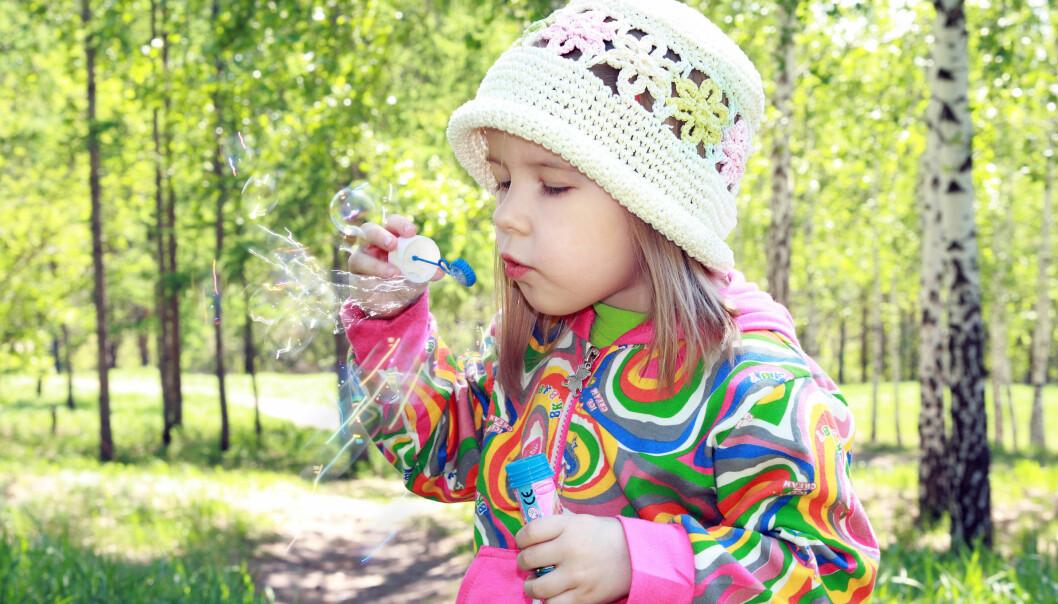 I Sverige er det registrert at våren har hatt det travelt i år, også nord i landet. Det baserer svenskene på observasjoner av blant annet tidspunkt for løvsprett.  (Foto: Microstock)
