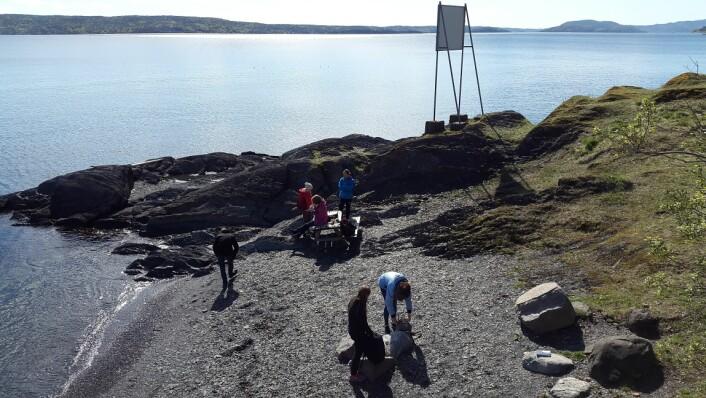Oslofjorden er både nydelig og perfekt til geofagundervisning! Foto: LLD