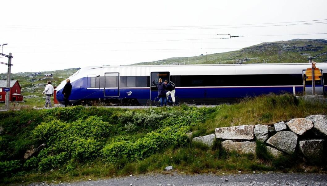 Bergensbanen er ikke så trygg å reise med som Gardermobanen. Når du reiser med et transportmiddel, så aksepterer du et visst sikkerhetsnivå.  (Foto: NTB Scanpix)