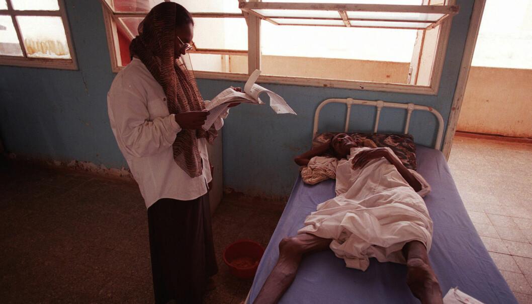 Tuberkulose krever årlig nærmere tre millioner liv, og ingen steder har infeksjonssykdommen bedre vilkår enn i overfylte fengsler. Her fra Sudan. (Foto: Nils-Inge Kruhaug, NTB scanpix)
