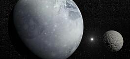 Fant polkalott av is på Pluto