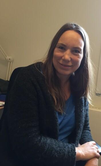 – Vi tror at ved å gi pasienten et mer balansert ernæringstilbud før operasjon og tilpasse den medisinske behandlingen mer etter andre sykdommer pasientene har, vil de være bedre rustet, sier kreftforsker Nina Ommundsen.  (Foto: Hege Fantoft Andreassen)