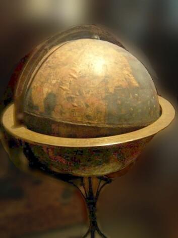 Martin Behaims globus. Bildet er hentet fra Wikipedia, foto Alexander Franke