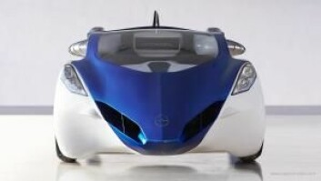 Slik ser AeroMobil ut i bil-modus.  (Foto: Aeromobil.com)