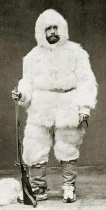 Oppdageren Julius Payer (1841-1915): Drepte isbjørn, men viste samtidig forståelse for dem. (Foto: Wikimedia commons)