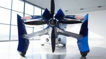 AeroMobils motor styrer både hjulene og propellen.  (Foto: Aeromobil.com)