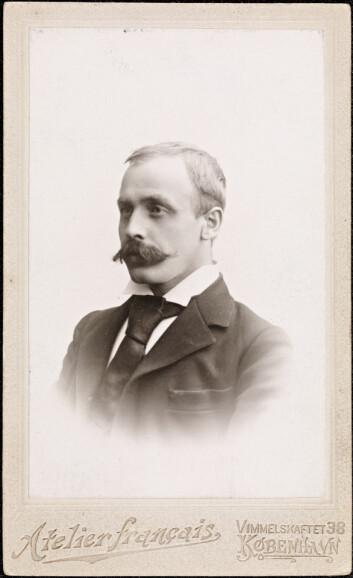 Sigbjørn Obstfelder. Bildet er hentet fra Wikipedia.