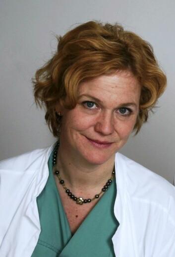 Helga Birgitte Salvesen er overlege ved Kvinneklinikken og professor ved Universitetet i Bergen. Hun tror den nye metoden for masseundersøkelser kan være et steg i riktig retning.   (Arkivfoto: Universitetet i Bergen)