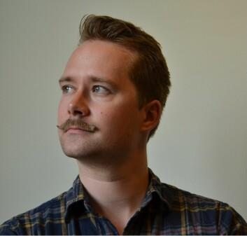Anders Kvernberg, bibliotekar ved Nasjonalbiblioteket. (Foto: Nasjonalbiblioteket)