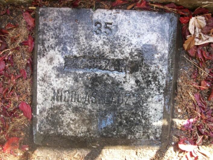 Graven til Nicholas Lawson i Valparaíso i Chile.  (Foto: Ignacio Salvo)
