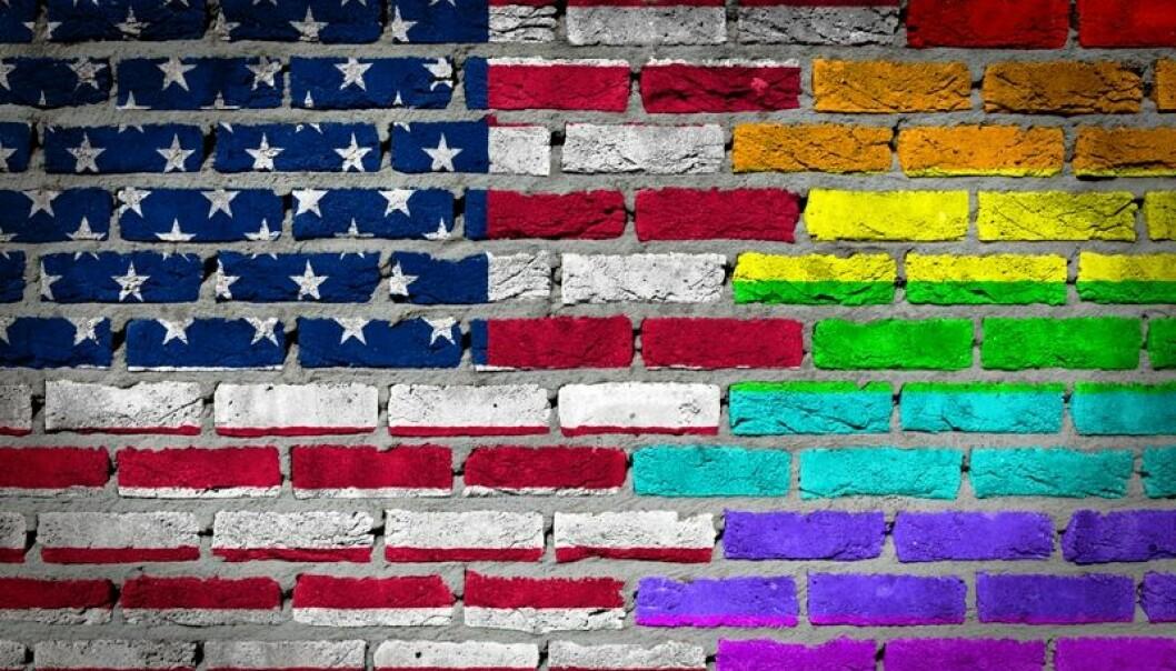 De yngre generasjonene i USA godtar homofili i mye større grad enn sine forgjengere.  (Illustrasjonsfoto: Colourbox)