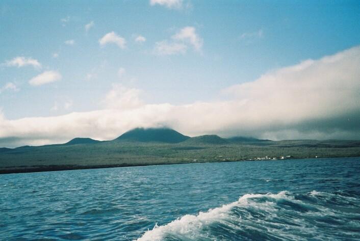 Floreana i Galápagos. Lawson tok i mot Darwin på denne øya i 1935.  (Foto: Muggmag)