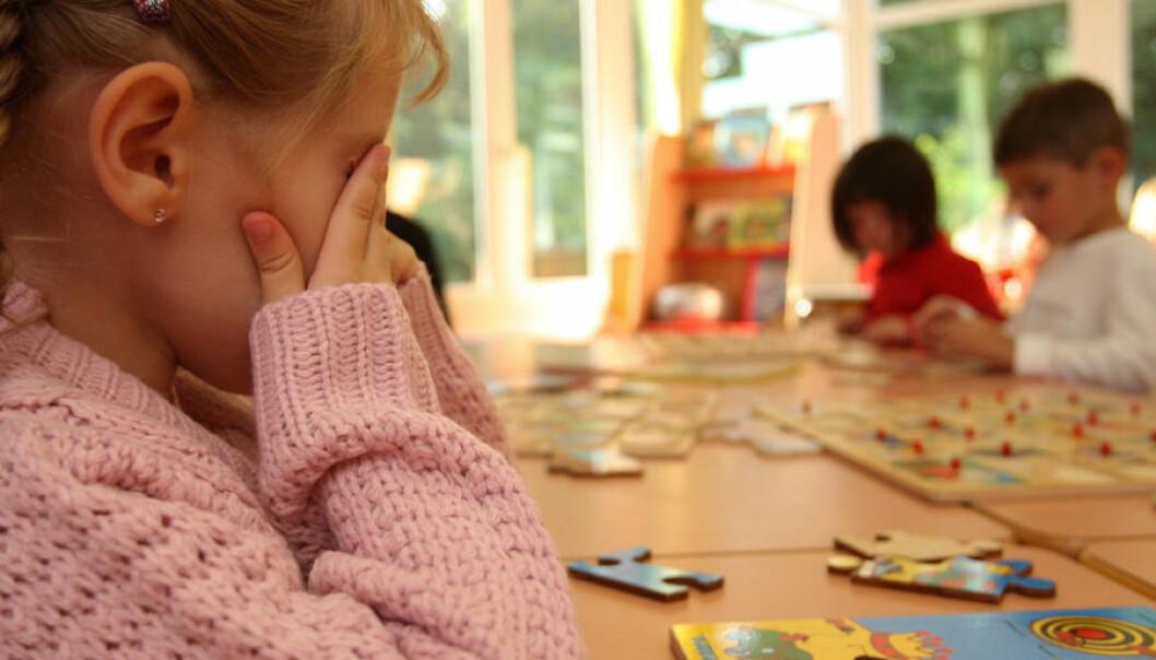 Barn med ADHD-symptomer og språkforsinkelser kan misforstås som uoppmerksomme. Da kan det lønne seg å finne gode måter å snakke sammen på, fremfor å bli sint eller frustrert, mener forsker (Illustrasjonsfoto: Colourbox)