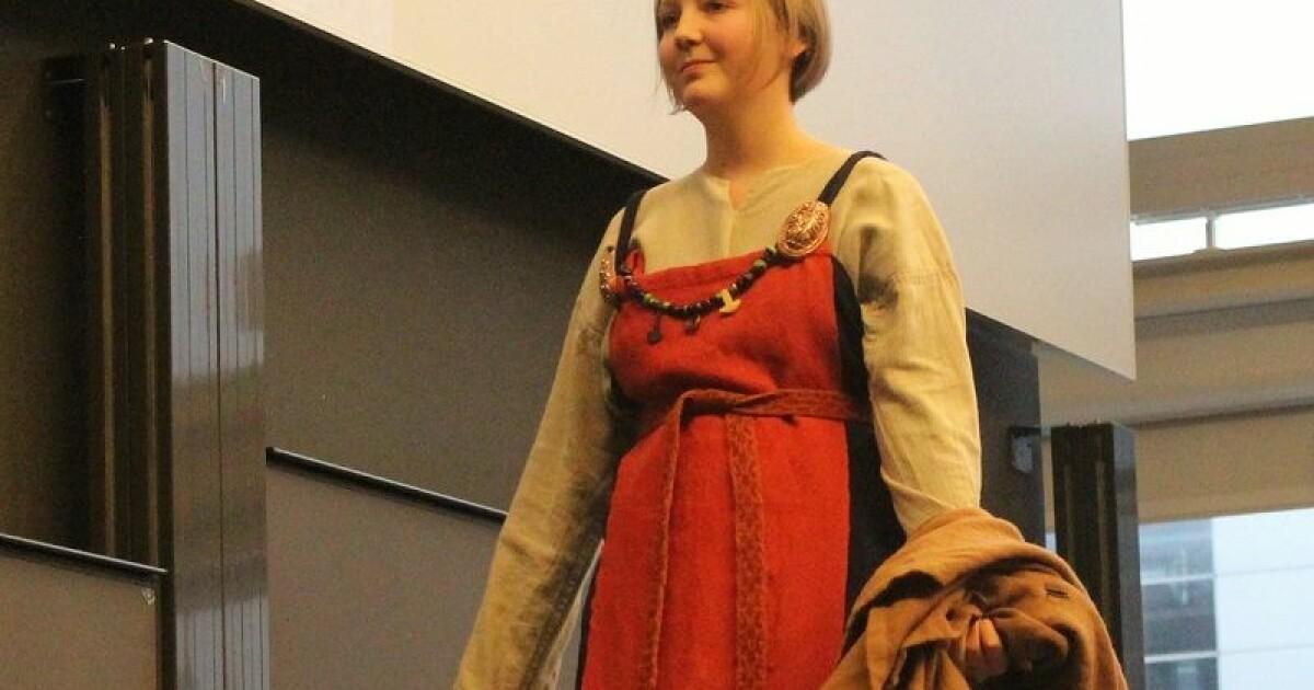 02a7924b Vikingmoten: De elsket farger, pels og silke